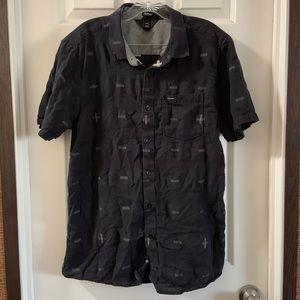 Volcom Desmond Short Sleeve Modern Fit Button Down